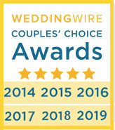 Our Wedding Officiants NYC Weddingwire Couples' Choice Award 2019